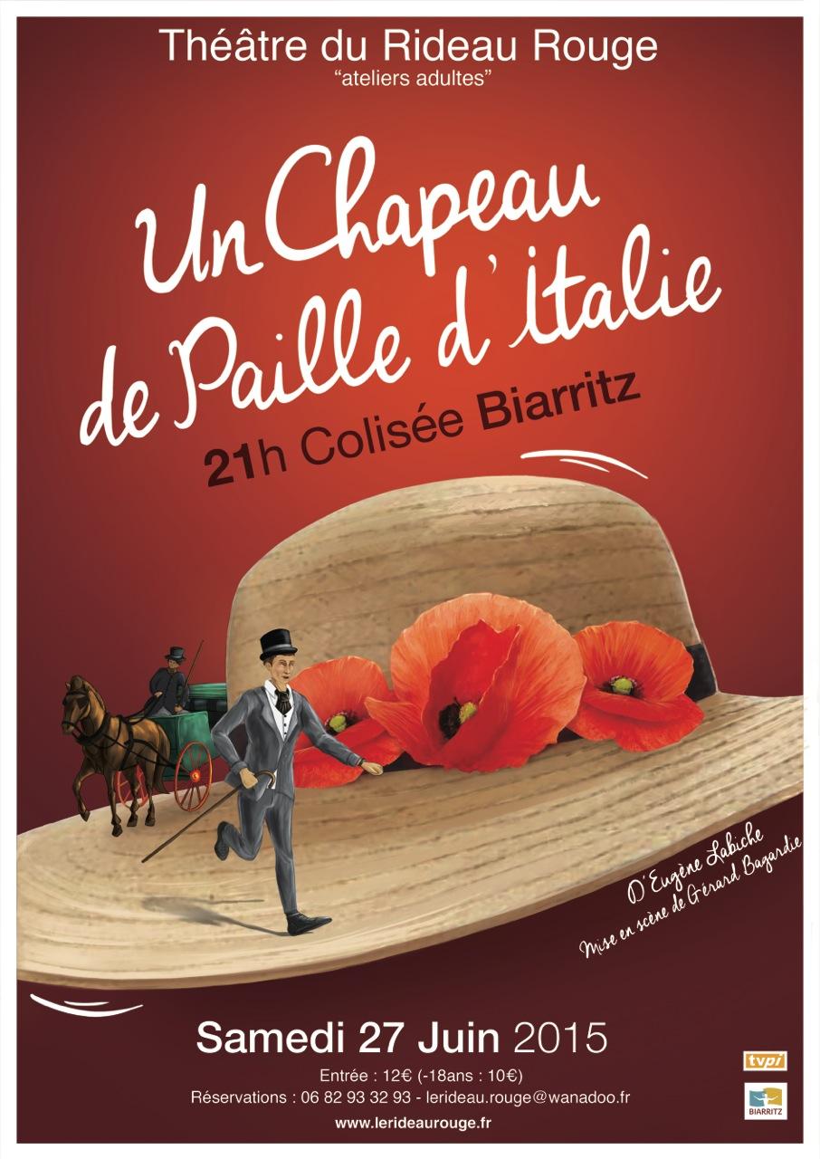 Affiche Un chapeau de paille d'italie